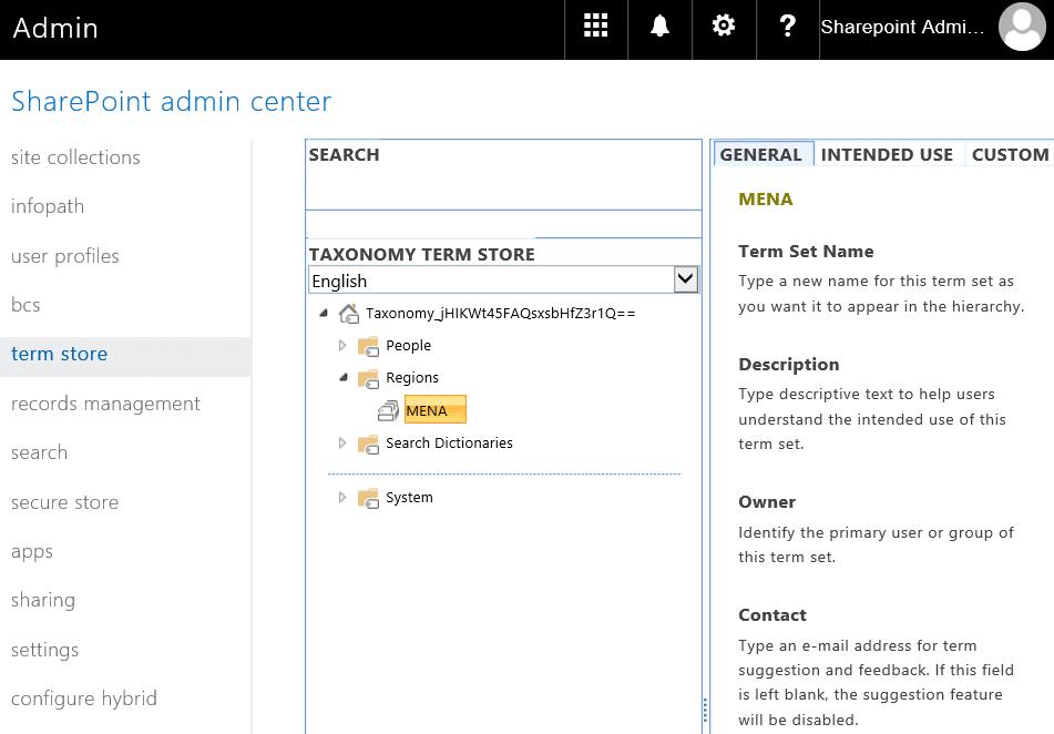 SharePoint Online Create Term Set using PowerShell