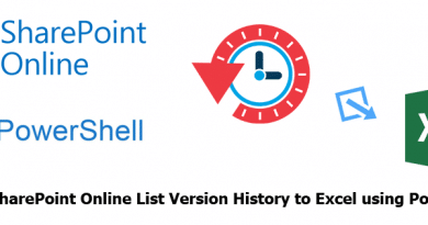 sharepoint online export list version history to excel using powershell 390x205