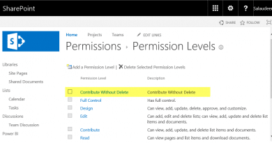 sharepoint online powershell to create permission level 390x205