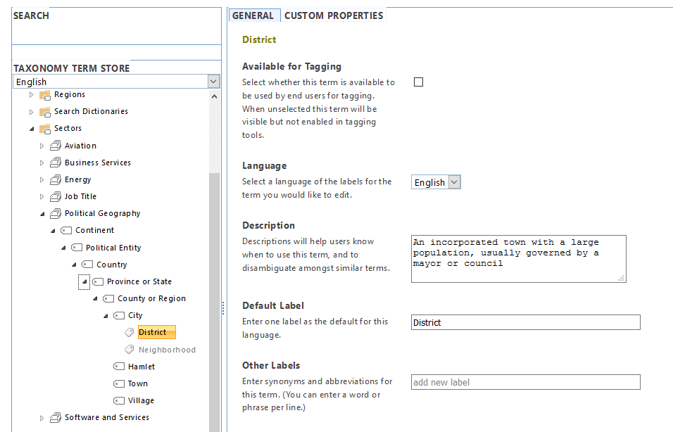 sharepoint online powershell to export term store to CSV