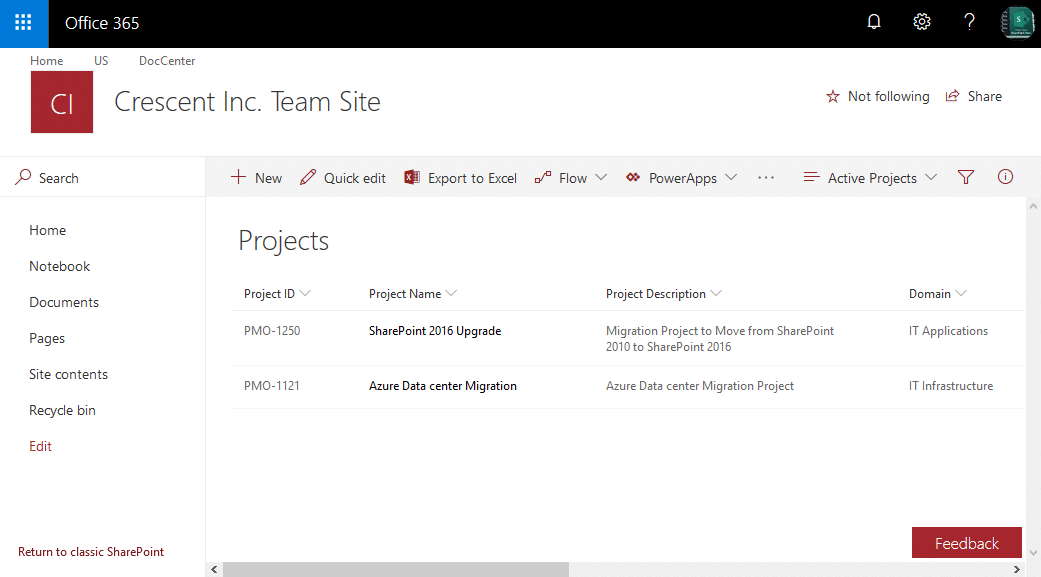 sharepoint online powershell to get list items from view