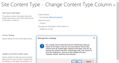 sharepoint online remove column from content type 390x205