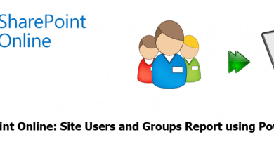 sharepoint online users and groups report using powershell 390x205