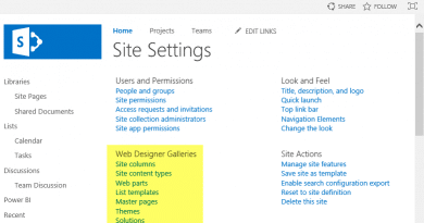 SharePoint Online: Web Designer Galleries (Site Columns, Content Types, Web Parts, List Templates, etc) Missing in Site Settings