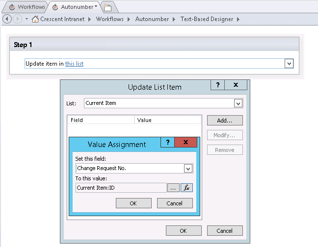 sharepoint add autonumber to list
