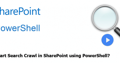 start search crawl in sharepoint using PowerShell 390x205