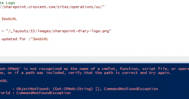 the term get spweb is not recognized as the name of a cmdlet function script file or operable program 390x205