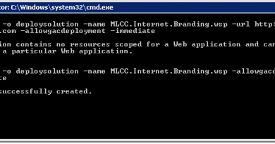 this solution contains no resources scoped for a web application and cannot be deployed to a particular web application 390x205