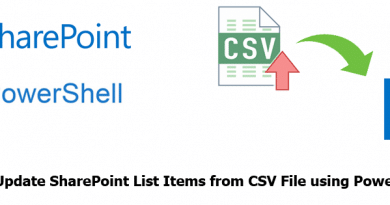 update sharepoint list Items from csv file using powershell 390x205