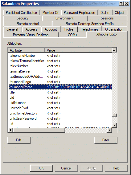 import pictures active directory sharepoint 2010