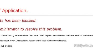 access to this Web site has been blocked please contact the administrator to resolve this problem 390x205