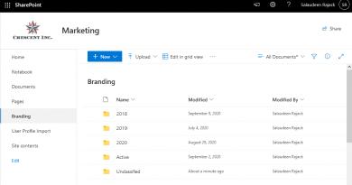 hide folder in sharepoint online document library