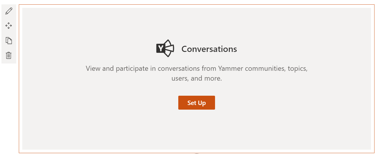 how to integrate yammer with sharepoint online