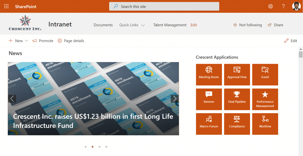 add rotating banner in sharepoint online