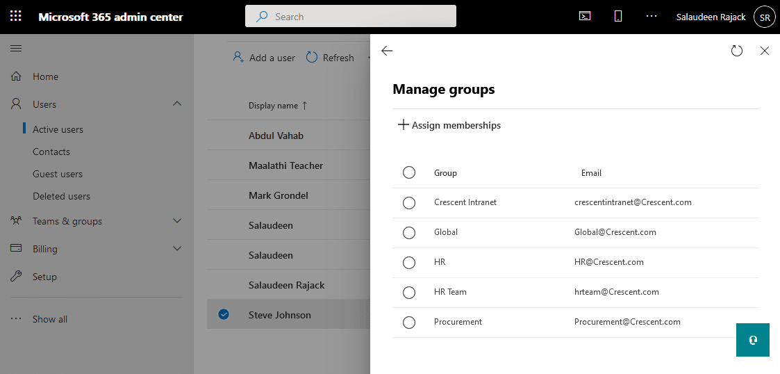 find all microsoft 365 groups users is member of