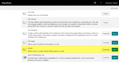 how to enable spaces in sharepoint online