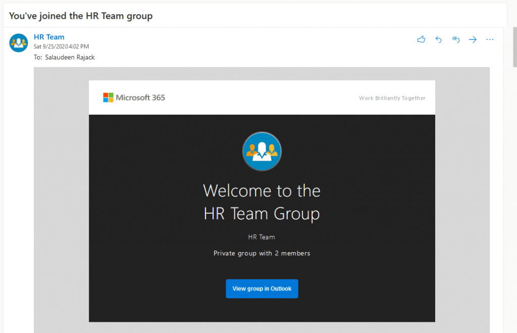 office 365 group turn off welcome email 1024x659
