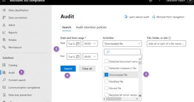 sharepoint online track document downloads