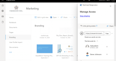 sharepoint online share links permission report